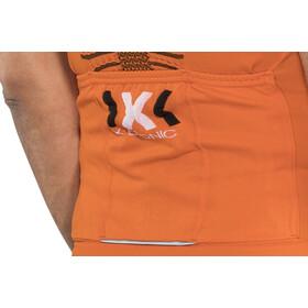 X-Bionic The Trick Fahrrad Trikot SS Full-Zip Herren orange sunshine/black
